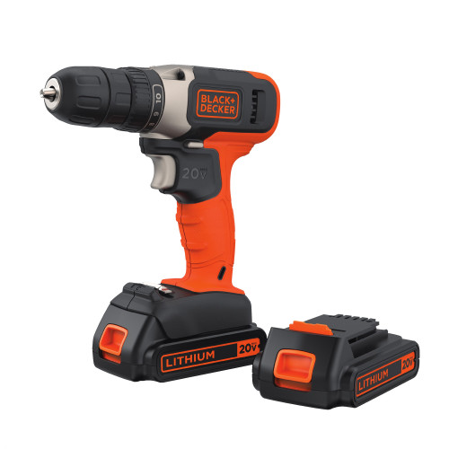 TALADRO ATORNILLADOR BLACK & DECKER 20V LITIO
