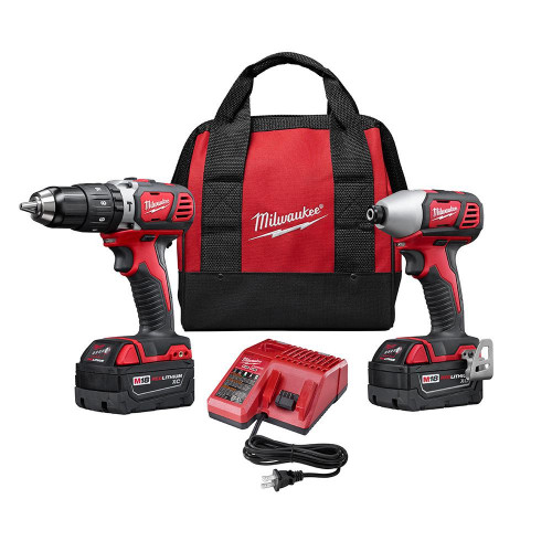 KIT TALADROS MILWAUKEE 18V